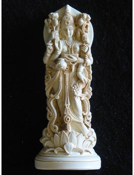 Maha Lakshmi Goddess Of Luck And Fortune by Etsy