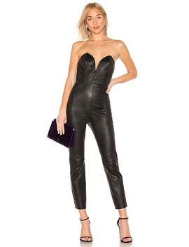 Uma Leather Jumpsuit by Lpa