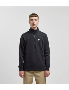 Nike Club Half Zip Sweatshirt by Nike