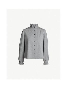 Twenty Cotton Blend Jersey Shirt by Claudie Pierlot