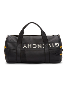 Black & Yellow Mc3 Reverse Duffle Bag by Givenchy
