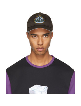 Casquette Brune Forest Calis Soft by Acne Studios