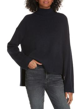 Tie Back High/Low Cashmere Blend Sweater by Lewit