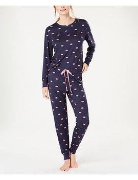 Soft Printed Knit Pajama Set, Created For Macy's by Jenni