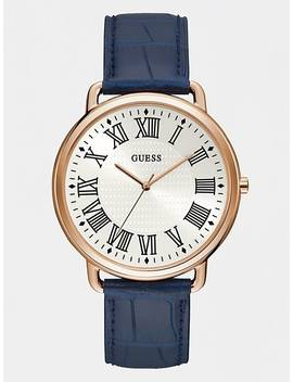 Croc Look Analogue Watch by Guess