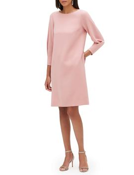 Caddie Finesse Crepe Dress by Lafayette 148 New York