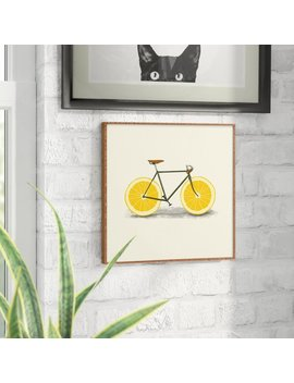 East Urban Home 'zest I' Framed Painting Print & Reviews by East Urban Home
