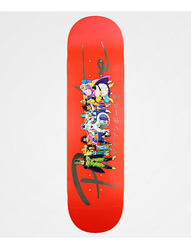 "Primitive X Dragon Ball Z Nuevo Villains 8.25"" Skateboard Deck by Primitive"