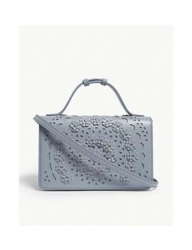 Franca Floral Appliqué Shoulder Bag by Azzedine Alaia