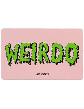 Jv By Jac Vanek Weirdo Sticker by Jv By Jac Vanek