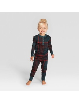 Toddler Plaid Holiday Pajamas Union Suit   Hearth & Hand™ With Magnolia by Shop Collections