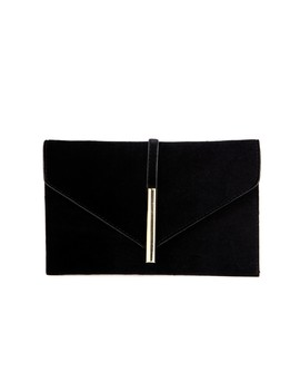 Velvet Bar Accent Envelope Clutch by Windsor