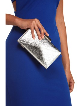 Geometric Style Clutch by Windsor