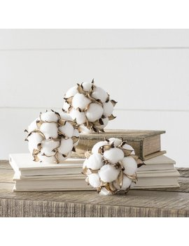 Laurel Foundry Modern Farmhouse Kingsville Cotton Ball Orbs Vase Filler & Reviews by Laurel Foundry Modern Farmhouse