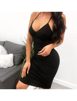 Erika Dress (Black) by Laura's Boutique
