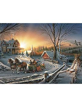 Buffalo Games   Terry Redlin   The Pleasures Of Winter   1000 Piece Jigsaw Puzzle by Buffalo Games