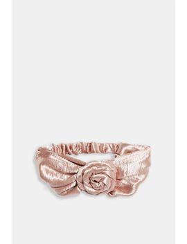 Satin Rose Headband by Topshop