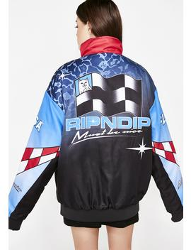 Nascar Nerm Puffy Racing Jacket by Ripndip