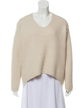 Cable Knit Wool Sweater by Acne Studios