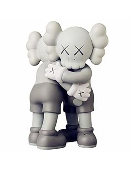 """Guanxing 11"""" 28cm Prototype Kaws Huging Together Original Companion Model Art Toys Action Figure Collectible Model Toy (Grey) by Guanxing"""