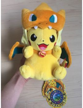Pokemon Center Limited Edition Mega Tokyo Pikazard Plush Mint Pikachu Charizard by Pokemon