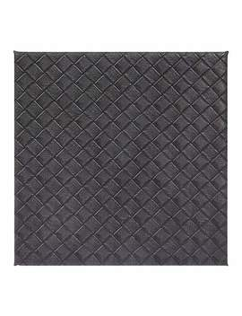 Grey Weave Pack Of 4 Coasters by Dunelm