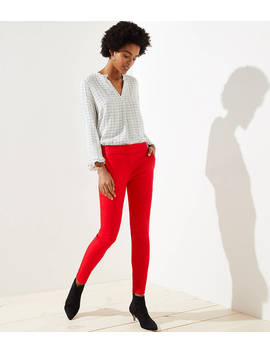 Skinny Split Waist Pants In Marisa Fit by Loft