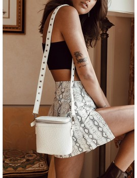 Georgia Mae The Hendrix Bag Mini White by Georgia Mae