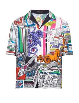 The Temple Shirt by Versace