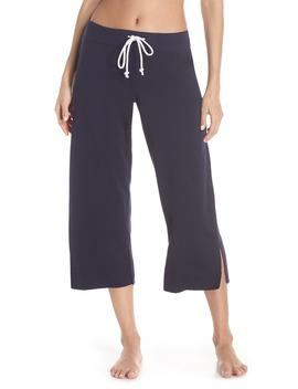 Fleece Crop Pants by Something Navy