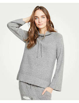 Drawstring Neck Sweater by Ann Taylor