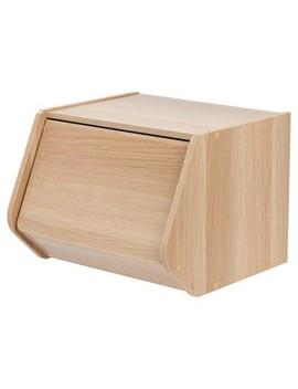Iris Stacking Storage Box With Door by Iris
