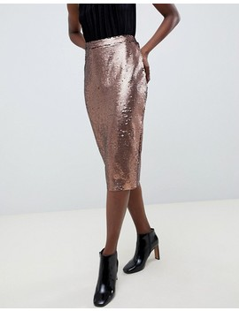 Vero Moda Sequin Pencil Skirt by Vero Moda