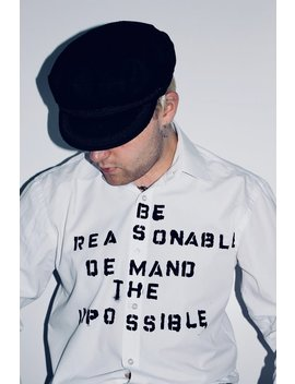 Be Reasonable Demand The Impossible   Sex/Seditionaries Style Shirt   Vivienne Westwood   Malcolm Mc Laren   Sex Pistols   Punk   Iconic by Etsy