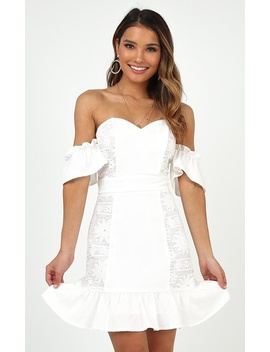 My Only Wish Dress In White by Showpo Fashion