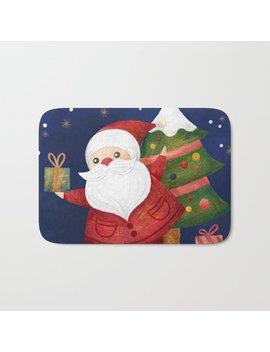 Santa Bath Mat by