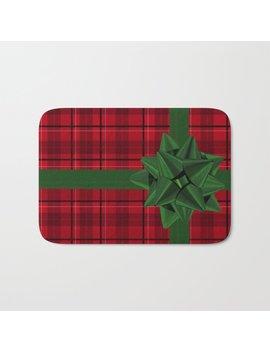 Christmas Gift Bath Mat by