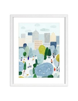 "16""X20"" Kate Pugsley City Scene Framed Wall Poster Print   Project 62™ by Project 62"