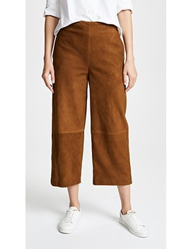 Suede Culottes by Vince