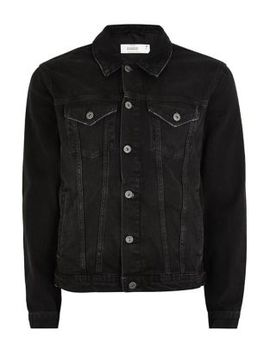 Long Sleeve Denim Jacket by Topman