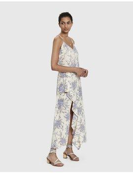 Agnes Floral Print Maxi Dress by Farrow