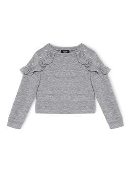 Ebonyruffle Sweater 3 7 by Bardot Junior