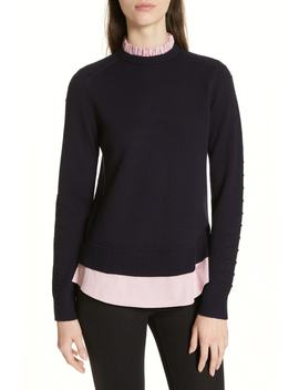 Mock Two Piece Sweater by Ted Baker London