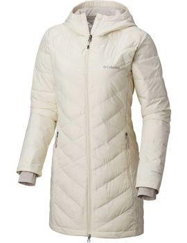 Columbia Women's Plus Heavenly Long Hooded Down Jacket by Columbia