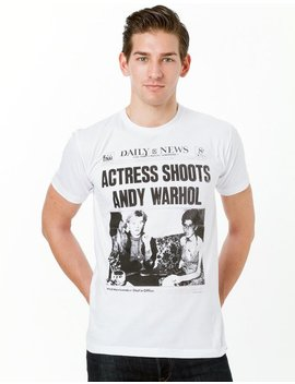 Pop Art Actress Shoots Andy Warhol Unisex T Shirt Available In 3 Colors by Etsy