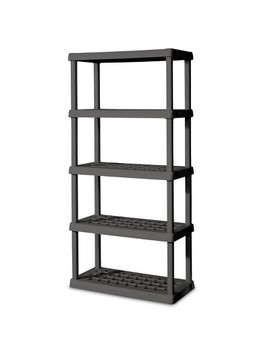 Sterilite Flat Storage Shelves Gray by Sterilite