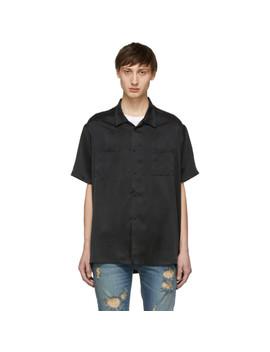 Black Silk Shirt by Nahmias