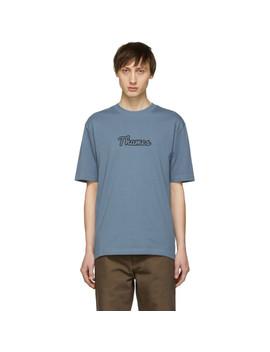 Blue Logo T Shirt by Thames