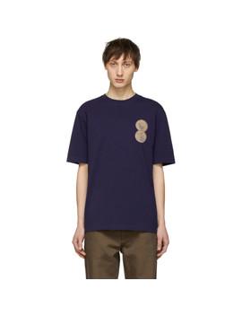 Navy Gbp T Shirt by Thames