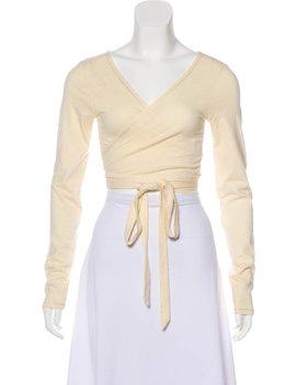 Long Sleeve Crop Top by Ralph Lauren